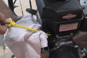 Check and Add Oil To the Engine