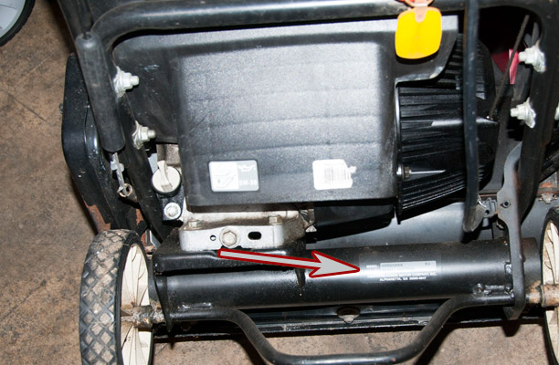 Honda Snow Blower model and serial number location