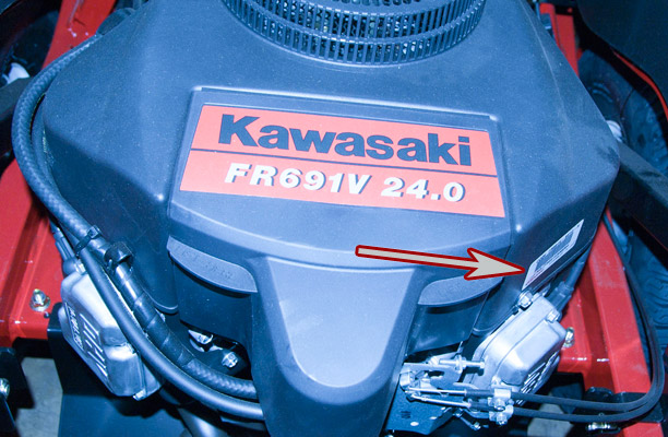 Where To Find The Model And Serial Number On A Toro Zero