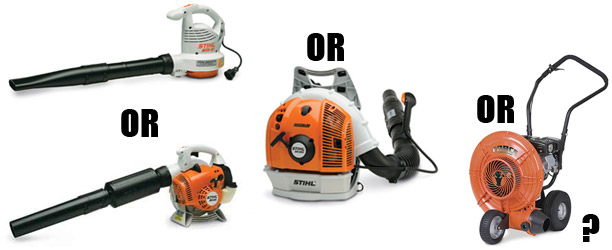 The Four Types of Leaf Blowers: Which is Right for You?