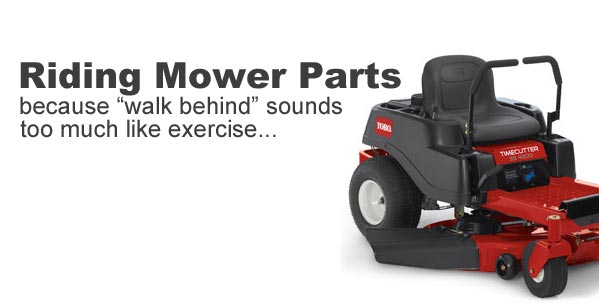 Discount riding mower parts
